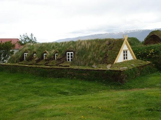 islandzki eko dom